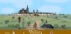 Animatiespel - de stad & kasteel
