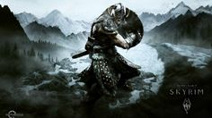 The Elder Scrolls Skyrim is an action role-playing game, created by Bethesda Game Studios, originally released all the way back in November of Players take on the role of a character in a… Elder Scrolls V Skyrim, The Elder Scrolls, Skyrim Wallpaper, Viking Wallpaper, Hd Wallpaper, Curry Wallpaper, Paper Wallpaper, Computer Wallpaper, Xbox One