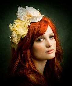 ban.do - nouveau bride  I know its all about the hair bans but the photos are pure art