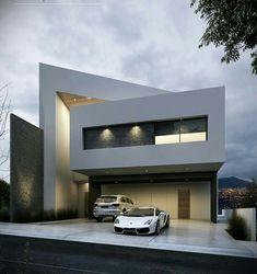 #fachadasmodernas #casasminimalistasinteriores #fachadasverdescasa