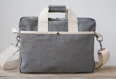 Canvas Shoulder Bag, back