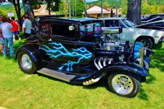 Car Show at Sutherlin Oregon's Blackberry Festival August 15, 2015