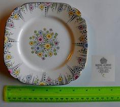 """""""Lynton"""" Patterned Royal Albert Dessert Plate c1927-38   eBay"""