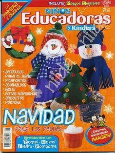 como hacer muñecos navideños 2014 Web Gallery, Crafts To Do, Christmas Ornaments, Holiday Decor, Blog, Creando Ideas, Craft Ideas, Magazine, Christmas Home