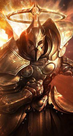 Lightlords podem ser tão poderosos e cruéis quanto os Darklords, mas a fonte de seu poder é oposta.