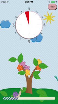 Fun Time Timer ($0.00) to help kids manage time in a better way.
