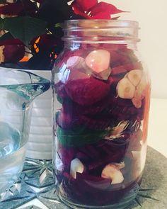 Szyszkin ciągle pichci: zakwas na barszcz wigilijny Nasu, Mason Jars, Mason Jar, Glass Jars, Jars