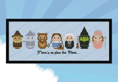 The Wizard of Oz parody Cross stitch PDF pattern di cloudsfactory