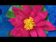 3D Waterlily video tutorial   3D Winter Mug   MIXED-MEDIA DONUT  CLICK HERE TO VISIT MY YOU TUBE CHANNEL AND SUBSCRIBE! This video below was my first video tutorial ever.  I shot it using…