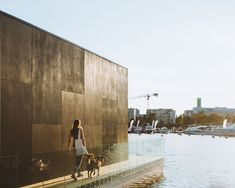 Estonian design firm unveils the KODA Light Float, a tiny prefab structure equipped with floating pontoons to make it the perfect home for any waterfront property.