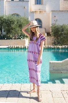 Pippa Holt's Chic, Artisanal Kaftans Are Now at Bergdorf Goodman, Just in Time For Spring Shopping