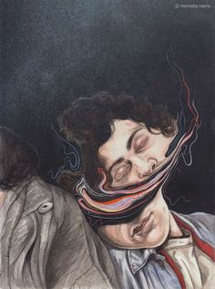 Colorfully Distorted Portraitures - The Henrietta Harris 'Hold Still' Exhibit is Mesmeri (GALLERY)