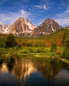 White Cloud Mountains. Idaho. Idaho, really? Someone take me here.