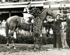 Bold Venture...1936 Kentucky Derby and Preakness winner.