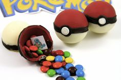 How to Make Candy Pokemon Pokeballs-Written Directions