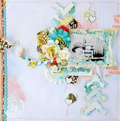 Wishes & Dreams layout by Felicity Wilson for Prima!