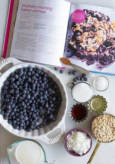 Blueberry Baked Oatmeal_Ingredients | Bakers Royale