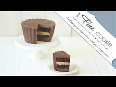 Peanut Butter Cup Cake. Make it for a Loved One. Or for Yourself, Because You Are All The Lovin' You Need. - 1 Fine Cookie