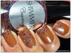 Shimmer Polish Courtney Boombastic Nails