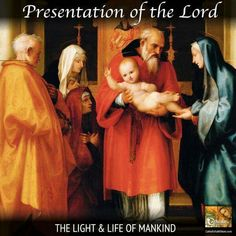 Today, February 2nd, the Church celebrates the #Feast of the Presentation of the Lord which occurs forty days after the birth of Jesus and is also known as #Candlemas Day.