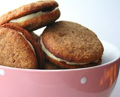 Ginger Lemon Cremes (Low Carb and Gluten Free)   All Day I Dream About Food