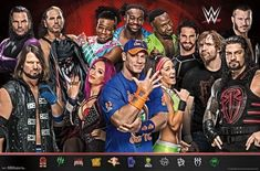 Wwe Birthday, Birthday Ideas, Poster Wall, Poster Prints, Wrestling Posters, Groups Poster, Wwe Girls, Popular Sports, Really Funny