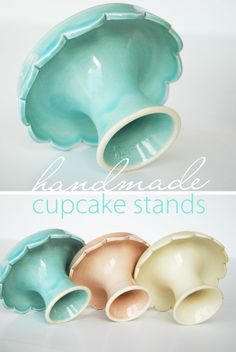 {Fabulous Find} Handmade Cupcake Stands