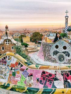 Park Guell // Barcelona Spain