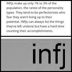 INFJ - this is sadly so true.