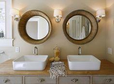 Wine Barrel Mirrors