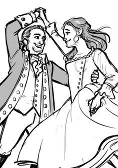 Alexander And Eliza, Saga, Hamilton Fanart, Hamilton Musical, American Revolution, Musicals, Sketches, Romance, Princess Zelda
