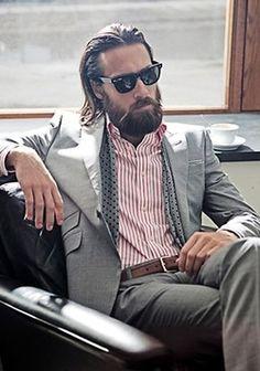 suited beard