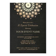 Elegant Gold Circle Motif Black Linen Look Formal Announcements we are given they also recommend where is the best to buyReview          Elegant Gold Circle Motif Black Linen Look Formal Announcements today easy to Shops & Purchase Online - transferred directly secure and trusted che...