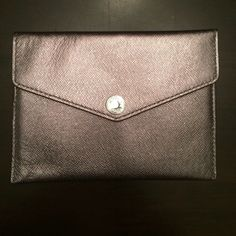 Michael Kors - Passport Case - BNWT GunMetal - Can work as a wallet for the Jet Set tote in my closet Michael Kors Accessories