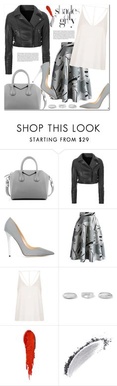 """Shades of Grey"" by christinacastro830 ❤ liked on Polyvore featuring Givenchy, Glamorous, Jimmy Choo, Chicwish, Topshop, Sophie Buhai, NARS Cosmetics, women's clothing, women and female"