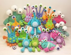 Here's a ponderous question for you. How many monsters are too many monsters? During the past few months I haven't been able to get enough of these brightly boggle eyed beasties and as …