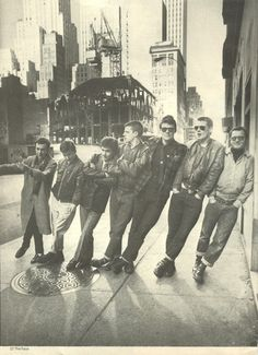 Rocker, Mods, Punk, Rude boy, Skinheads, Teddy boy...