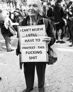 Amazing turn outs at Woman's Marches around the world! Today I'm extremely proud to be a Nasty Woman.