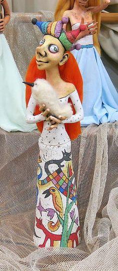 Inna Olshansky . Art . Israel | Dolls