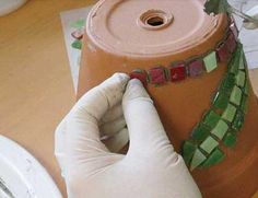 How to Make a Mosaic Pot