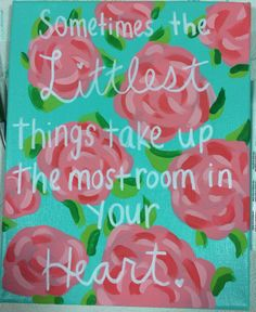 Lilly Pulitzer pattern sorority crafts