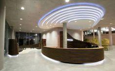 Reception Desk & Lounge