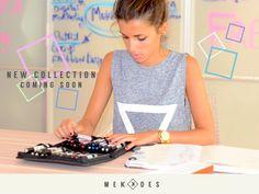 ¡La nueva colección está saliendo del horno! STAY TUNNED #Mekkdes #NewCollection #FelizLunes  www.mekkdes.com