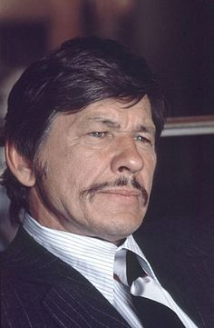 Charles Bronson. 1921-2003. WWII veteran. Corporal of US Air Force. Purple Heart US Government award.