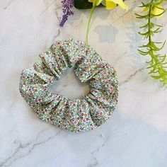 Liberty Summer Hair Scrunchie in 100% Cotton Fabric , Floral Ponytail Holiday Hair Accessory , Liberty Lover Birthday Gift, Flower Scrunchie Holiday Hairstyles, Summer Hairstyles, Liberty Of London Fabric, Cotton Fabric, Floral Fabric, Hair Accessory, Hair Ties, Scrunchies, Ponytail