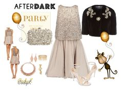 """""""AfterDark"""" by cody-k ❤ liked on Polyvore featuring Alice + Olivia, Rachel Zoe, Gucci, Jenny Packham, Dolce&Gabbana, Avenue, Ellen Conde and Glint"""