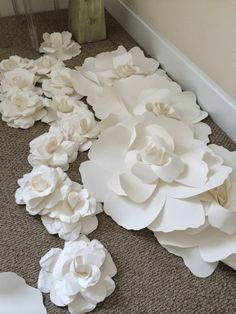 Huge Paper Roses Flowers are Blooming at Fanciful Designs!