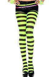 Music Legs Women's Plus Size Wide Stripe Tights