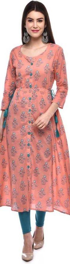 Women Printed A-line Kurta (Pink) Indian fashion design  #women #kurti #kurta #fashion #shopping #online #printed #men Latest Kurti Design LATEST KURTI DESIGN | IN.PINTEREST.COM FASHION EDUCRATSWEB