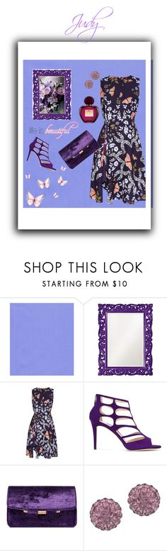 """""""Judy"""" by nashalymoe ❤ liked on Polyvore featuring Howard Elliott, Ted Baker, Jimmy Choo and Lord & Taylor"""
